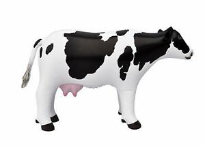 Inflatable cow Animal Baby 37 inch Long Great for Pool Party Decoration