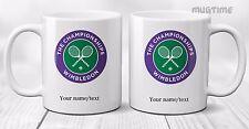 Personalised Wimbledon Tennis Sport - Championship -  Mug Cup - Ceramic 330ml