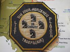 Patch_   THE 4 HORSEMEN , 16TH CAV TROOP