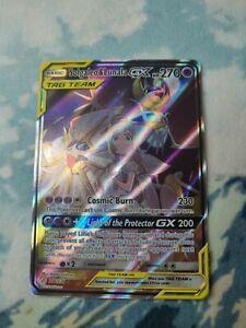 Pokemon TCG - Solgaleo & Lunala GX Full Art NM 216/236 Cosmic Eclipse