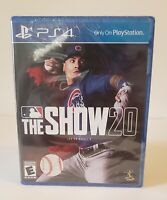 MLB The Show 20 (Playstation 4 / PS4) **Brand New Factory Sealed** Baseball Game