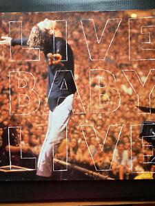 INXS  Live Baby Live  1991  Vinyl LP mercury 510 580     FREE POST IN UK