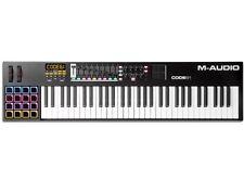 M-Audio Code 61 USB MIDI Keyboard Controller w/ Pads, Faders & Rotary Encoders