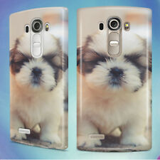 DOG TOUGH SMALL PUPPY SHIH TZU HARD BACK CASE COVER FOR LG PHONES