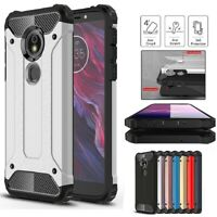 Case For Motorola Moto E5 Plus Play Go Shockproof Armor Hybrid Rugged TPU Cover