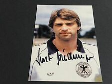 KURT NIEDERMAYER In-Person DFB signed Photo 10x15
