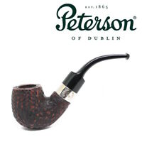 NEW Peterson Donegal Rocky Bent Briar Pipe 221 Fishtail