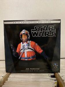 Gentle Giant Star Wars Jek Porkins 2014 Convention Exclusive Mini Bust
