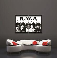 Nwa Dangerous Ice Cube Dr Dre Rap Hip Hop New Giant Wall Art Print Poster