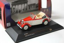 1:43 IST Models IFA F8 Cabriolet red/ beige 1953
