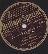 Erzengel Gabriel spricht 1931 : Verkündigung von Christi Geburt -Weihnachtsplatt