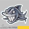 Smiling Shark Dangerous Face Vinyl Sticker Decal Window Car Van Bike 2902