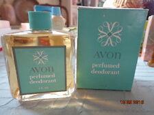 Vintage Avon 1956 Perfumed Deodorant Liquid Gift w original Box Full 4 floz rare