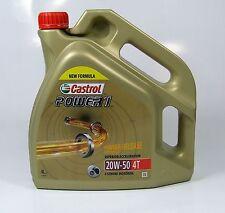 CASTROL POWER 1 4T MA2 20W-50 / 4 Liter API SJ, JASO MA-2 / NEW