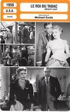 FICHE CINEMA : LE ROI DU TABAC - Cooper,Bacall,Neal,Curtiz 1950 Bright Leaf