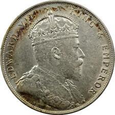 STRAITS SETTLEMENTS - MALAYSIA - DOLLAR - 1907 - SILVER - EDWARD VII