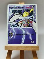 Lugia and Pikachu DoodleArt Pokemon Custom Card in Holo