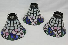 Vintage Tiffany Style Chandelier Shade Tulip Floral for Ceiling Down Light Lamp