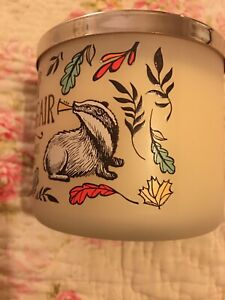 Bath And Body Works Candle ~ Crisp Morning Air ~ Badger ~