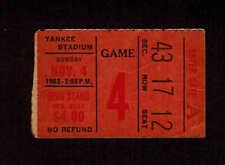1962  NEW YORK GIANTS vs ST LOUIS  CARDINALS  Ticket Stub