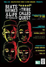"MX03512 A Tribe Called Quest - American Hip Hop Q Tip MC Music 24""x34"" Poster"