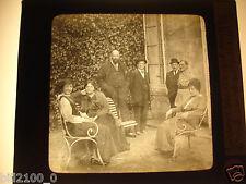 Soissons. photo ancienne.plaque de verre positif.thèatre aux armées.Mr Dalimier