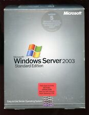 Open Box - Microsoft Windows Server 2003 Standard 5 CAL