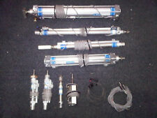 FESTO PNEUMATIC CYLINDERS (8) With sensors (16)