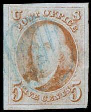 momen: US Stamps #1 Used SUPERB PSE Cert