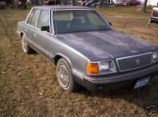 87  PLYMOUTH  RELIANT  4 DOOR  --Many Parts !--