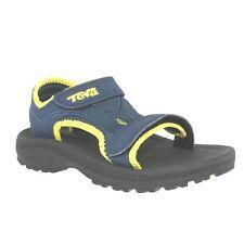 Teva Sandals Navy Blue/Yellow Open Toe Sandals Infants Size 4