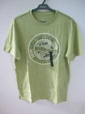 NEW! BANANA REPUBLIC GRAPHIC MEN'S SAFARI GLOBE GREEN T-SHIRT TEE SHIRT LARGE