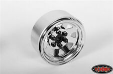 RC4WD 6 Lug Wagon 1.9 Steel Stamped Beadlock Wheels (Chrome) (4) RC4Z-W0002