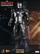 Hot Toys Pressofuso Iron Man 3 War Machine Mark II 30.5cm Statuetta MMS198 D03