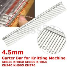 Garter Bar 4.5mm for Brother Standard Knitting Machine KH836 KH840 KH860 KH950