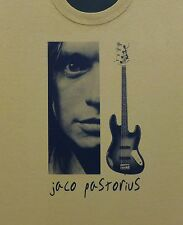 Jaco Pastorius t shirt New S, M, L, XL Bass Weather Report Heavy Word