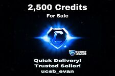 [XBOX] 2,500 Tradable Rocket League Credits (XBOX ONE) CHEAPEST *TRUSTED SELLER*