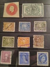 0ld Canada back of book stamps War Tax, Excise Tax etc