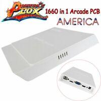 1660 Game in1 Arcade PCB Jamma Board Pandora's Box+10 3D Video Game Machine HDMI
