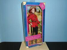 Dolls Of The World CANADA BARBIE Pink Label 2012 NRFB Mattel damaged Box