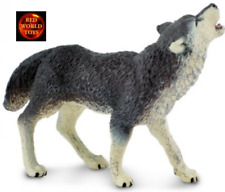 GREY WOLF HOWLING WILDLIFE TOY MODEL by SAFARI LTD 273829 *NEW WITH TAG*