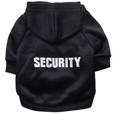 Small Dog Cat Clothes Security Pet Coat Jacket Outfit Rabbit Puppy Warm Clothing