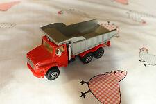 Camion benne grise Majorette échelle 1/60