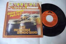 """THE INCREDIBLE BONGO BAND""""OKKEY DOKEY-DISCO 45 GIRI POLYDOR It 1974"""""""