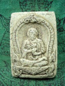 Phra Somdej Toh Wat Rakang Talisman Holy Monk Old Fetish Thai Buddha Amulet
