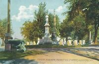 GLOVERSVILLE NY – Prospect Hill Cemetery Soldiers Monument