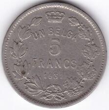 1931 Belgio 5 FRANCHI *** Da collezione ***