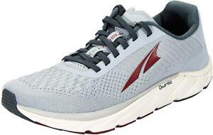 ALTRA Men's Torin 4.5 Plush Road Running Shoe, Light Gray/Red, 10.5 D(M) US