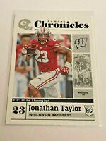 2020 Chronicles Draft Picks Football Rookie - Jonathan Taylor RC - Colts