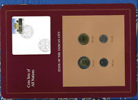 Coin Sets of All Nations Vatican w/card 1991-1992 UNC 20DIC1993